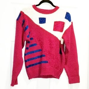SHERIDAN SQUARE vintage crazy sweater